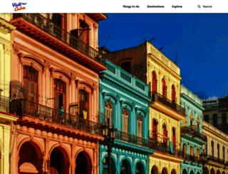 visitcuba.com screenshot