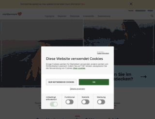 visitdenmark.de screenshot