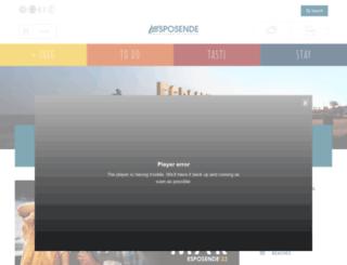 visitesposende.com screenshot
