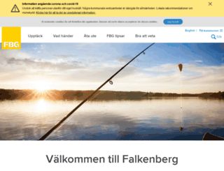 visitfalkenberg.se screenshot