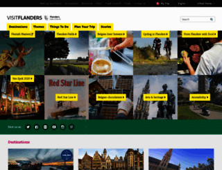 visitflanders.com screenshot