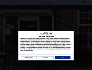 visitharrogate.co.uk screenshot