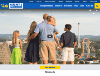 visithersheyharrisburg.org screenshot