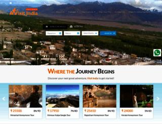 visitindiaholiday.com screenshot