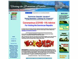 visiting-the-dominican-republic.com screenshot