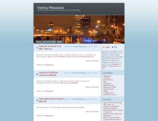 visitingmilwaukee.wordpress.com screenshot