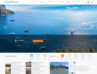 visititaly.com screenshot
