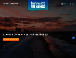 visitjacksonville.com screenshot