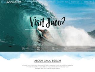 visitjacocostarica.com screenshot