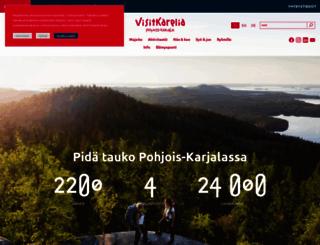 visitkarelia.fi screenshot