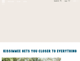 visitkissimmee.com screenshot