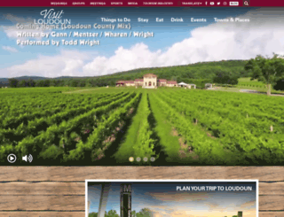 visitloudoun.org screenshot