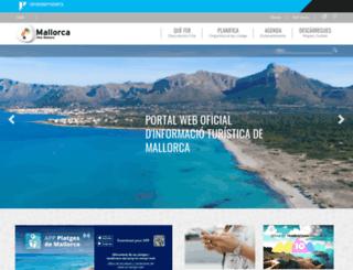 visitmallorca.com screenshot
