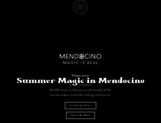 visitmendocino.com screenshot