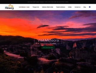 visitmeteora.travel screenshot