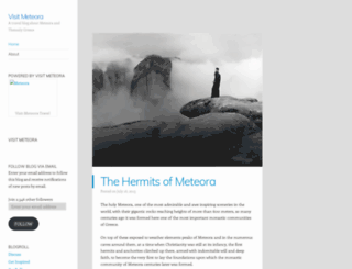 visitmeteora.wordpress.com screenshot