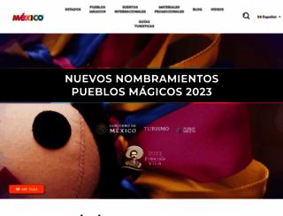 visitmexico.com screenshot