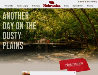visitnebraska.org screenshot