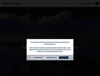 visitorkney.com screenshot