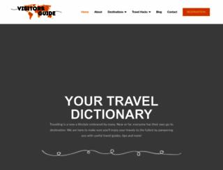 visitorsguide.com.my screenshot