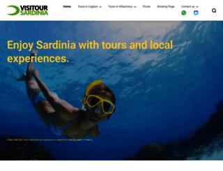 visitoursardinia.com screenshot