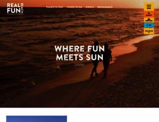 visitpanamacitybeach.com screenshot