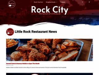 visitrockcity.com screenshot