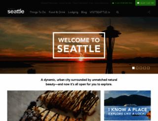 visitseattle.org screenshot