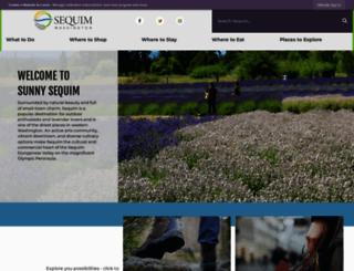 visitsunnysequim.com screenshot