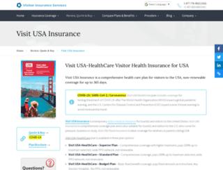 visitusainsurance.net screenshot