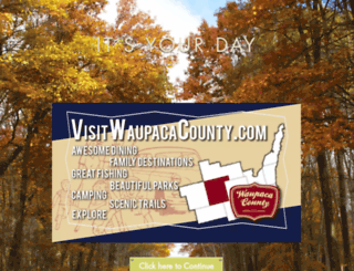 visitwaupacacounty.com screenshot