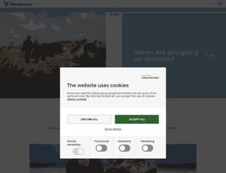 visitwestdenmark.com screenshot