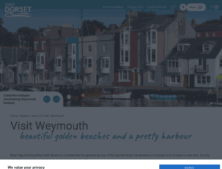 visitweymouth.co.uk screenshot