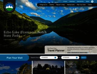 visitwhitemountains.com screenshot