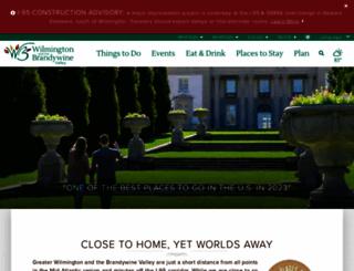 visitwilmingtonde.com screenshot