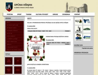 visnjan.hr screenshot