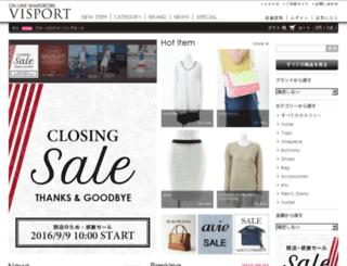 visport.jp screenshot