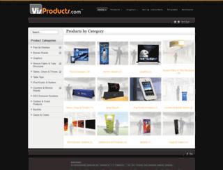 visproducts.com screenshot