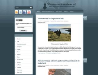 vissenmetkunstaas.nl screenshot