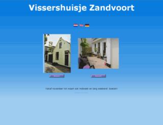 vissershuisje.nl screenshot