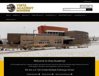 vistaacademy.dpsk12.org screenshot