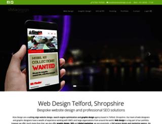 vistadesign.co.uk screenshot