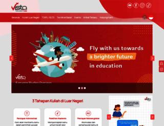 vistaeducation.com screenshot
