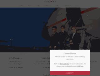 vistajet-think-global.com screenshot