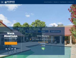 vistamontanaapartments.com screenshot