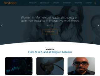 visteon.com screenshot