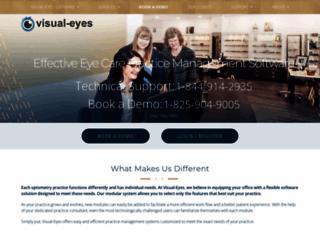 visual-eyes.ca screenshot
