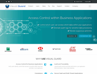 visual-guard.com screenshot