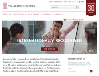 visualbasiccourses.com.au screenshot