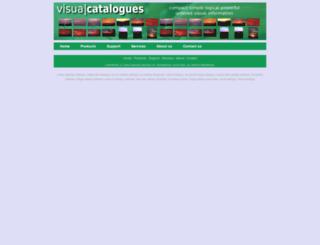visualcatalogues.com screenshot